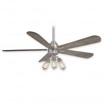 Minka Aire Alva Ceiling Fan - F852L-BN - Brushed Nickel