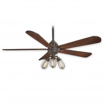 Minka Aire Alva Ceiling Fan - F852L-TI - Tarnished Iron