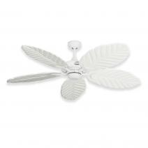 Coastal Air Ceiling Fan Pure White - 125 Arbor Blades Pure White