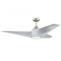 """56"""" Freestyle Ceiling Fan by Craftmade - FRE56BNK3 - Brushed Nickel"""