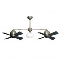 Gulf Coast Metropolitan Ceiling Fan - Satin Steel