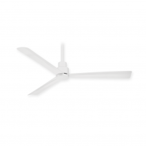 "44"" Minka Aire Simple Ceiling Fan - F786-WHF - Flat White"
