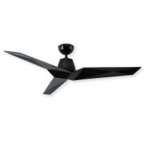 """60"""" Vortex Ceiling Fan by Modern Forms - Gloss Black - FR-W1810-60-GB"""