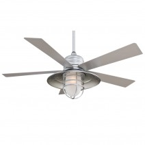 RianMan Ceiling Fan - Galvanized Finish