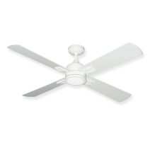 "TroposAir Captivia 52"" Ceiling Fan - Pure White"